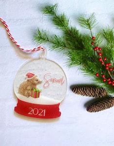 2021 Christmas Bauble - Echidna Australian Christmas Ornament