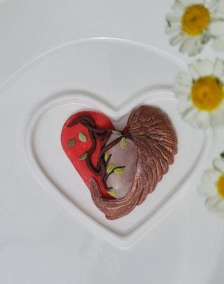 Bee's Knees Keepsake 'Grow around Grief' - keepsake item, empathy gift, gift for grievers can be personalised