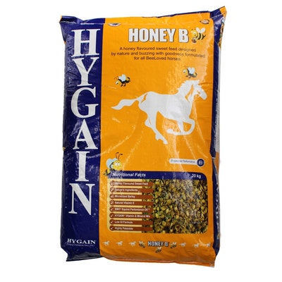 Hygain Honey B High Fibre Nutritional Horse Feed 20kg