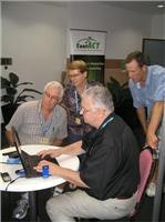 ContACT works on transfer of domain name Top  Tourist Conference Darwin 2009 015