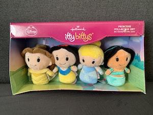 Disney Princess Itty Bitty Plush 4pk