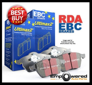 FULL SET EBC ULTIMAX PREMIUM BRAKE PADS for BMW E82 E88 135i 3.0T 5/2008-8/2013