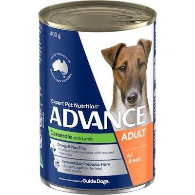 Advance Wet Dog Food Adult Lamb 400g