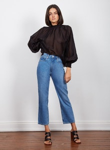 WISH INTENTIONS BLOUSE - Black