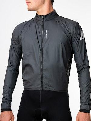 Twenty One Cycling Factory Wind Jacket - DimGrey - Men