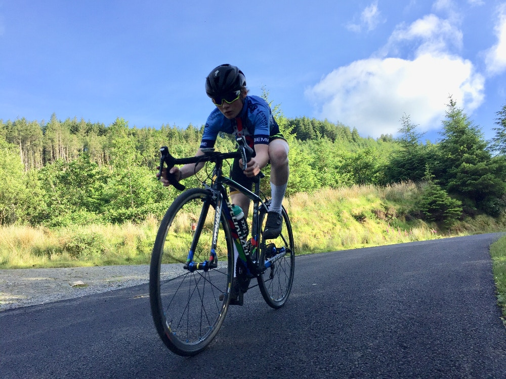 Niall McLoughlin - Future Irish Pro Cyclist, or President in Waiting?