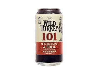 Wild Turkey 101 Bourbon & Cola Can 375mL