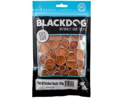 Black Dog Fish & Chicken Sushi Dog Treats