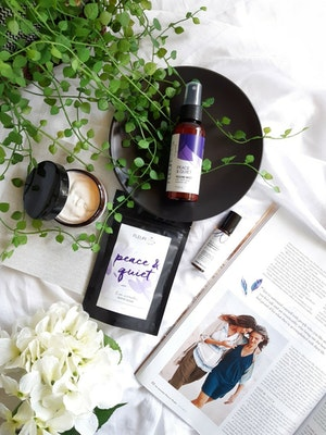 Fleurette Aromatherapy Peace & Quiet Aromatherapy Pamper Collection
