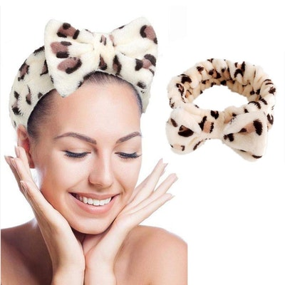 Georgie Skin Plush Fleece Headband