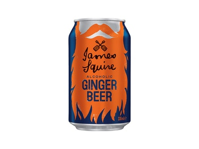 James Squire Alcoholic Ginger Beer Can 330mL