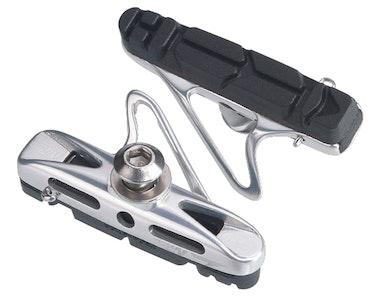 Airco Road Brake Shoes - Silver/Black (2 Pairs)