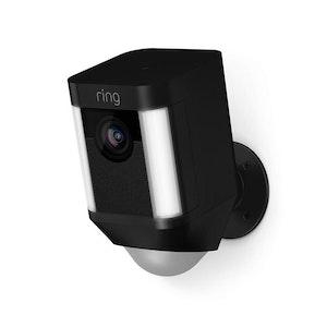 Ring Smart Wireless Spotlight Security Camera - Black