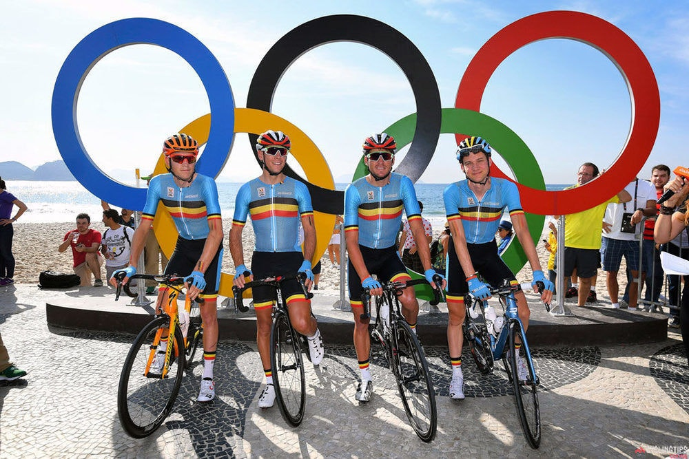 Belgium team Rio Olympic Games 2016 Mens RR