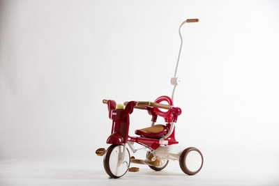 iimo 02 Tricycle (Red) without Sunshade