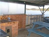 Easts Batemans Riverside Holiday Park barbecue with a view 095