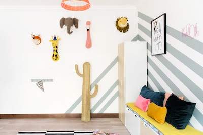 Fun Playroom Styling for Animal Lovers