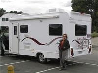 GoSeeAustralias Lisa loves camping in a  motorhome