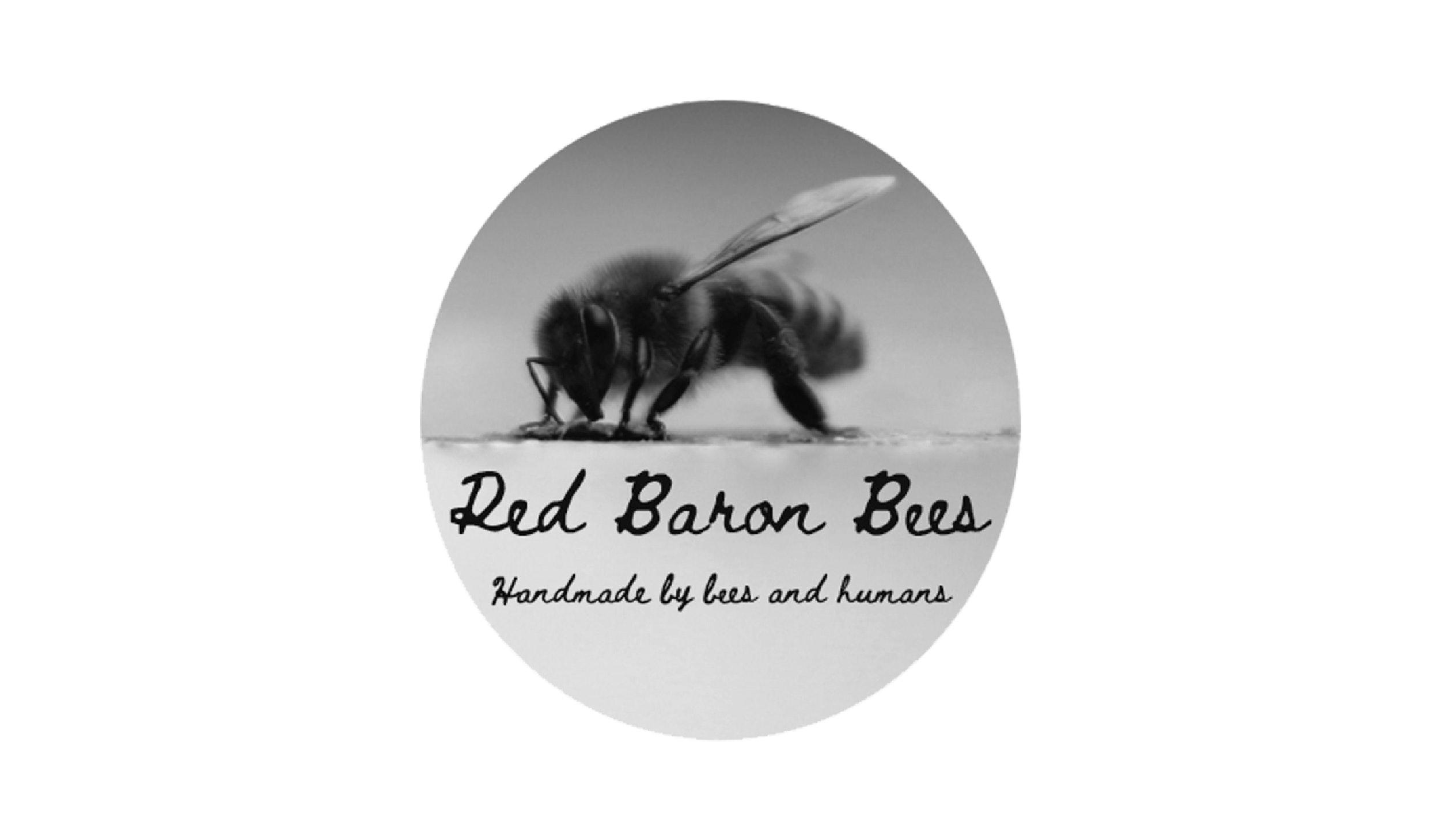Red Baron Bees Logo