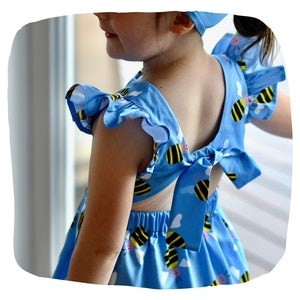 Blue Bee Dress