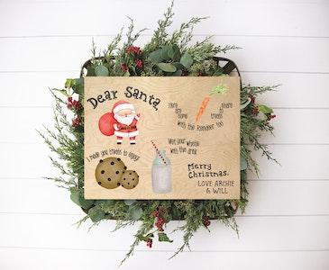 Santa Treat Board - Christmas Eve Snack Tray