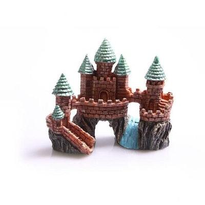 Aqua One AO Ornament Castle On The Rock w River Sml
