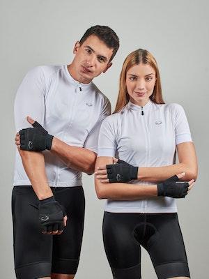 Taba Fashion Sportswear Guante Ciclismo Negro Corto - Unisex