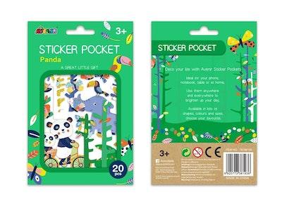 Avenir - Sticker Pocket - Panda