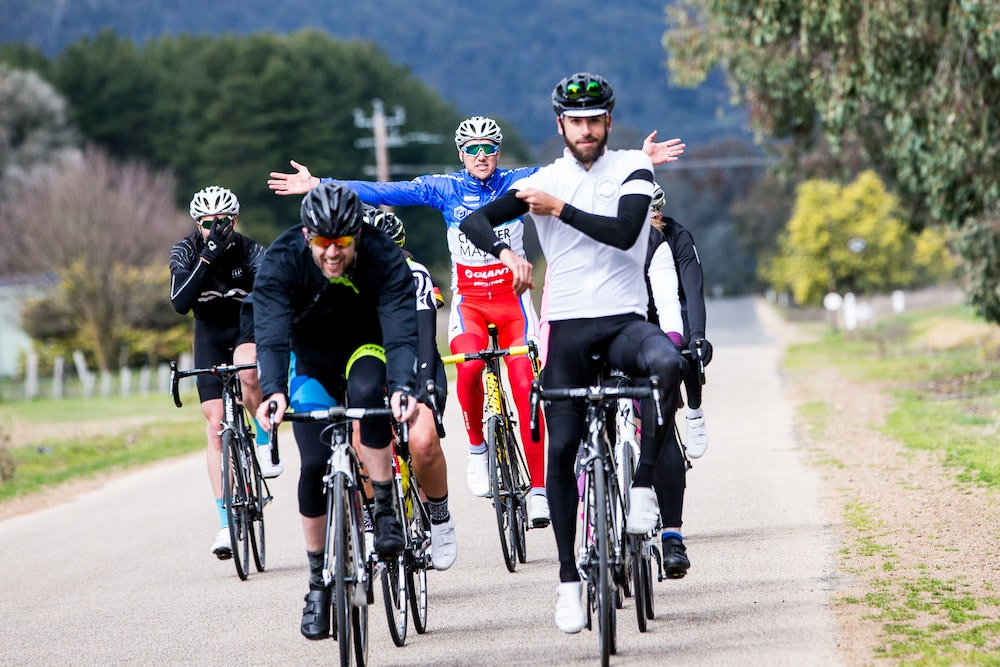 bunch riding together king valley