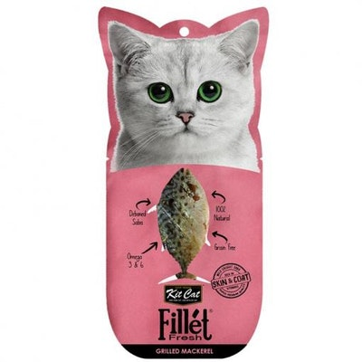 KIT CAT Grilled Mackerel Fillet Fresh Cat Treats 30G