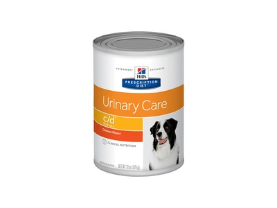 Hill's Prescription Diet Dog C/D Urinary Care Chicken 12 x 370g