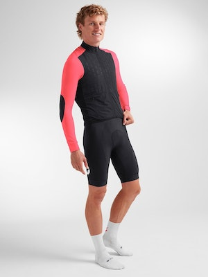Black Sheep Cycling Men's Elements North/South Insulated Jacket - Neon Pink