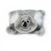 Zippy Paws ZippyPaws Squeakie Pad No Stuffing Plush Dog Toy - Available in Koala