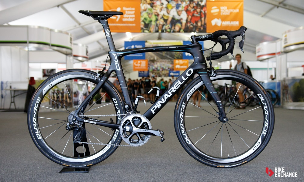 bikes of the 2017 worldtour Pinarello F10 Team Sky