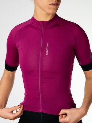 Twenty One Cycling Factory Midweight jersey - Purple - Women