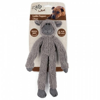 All For Paws Lambswool Cuddle Ropey Floppers