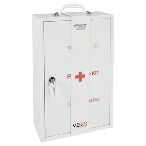 Mediq Incident Ready First-Aid Kit - Metal Cabinet (High Risk)