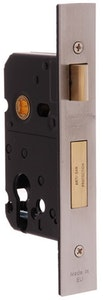 BDS Protector 735-47 euro style mortice lock in SC finish