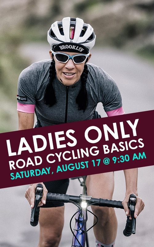 Ladies Road Cycling Basics August 17 @ 9:30 AM