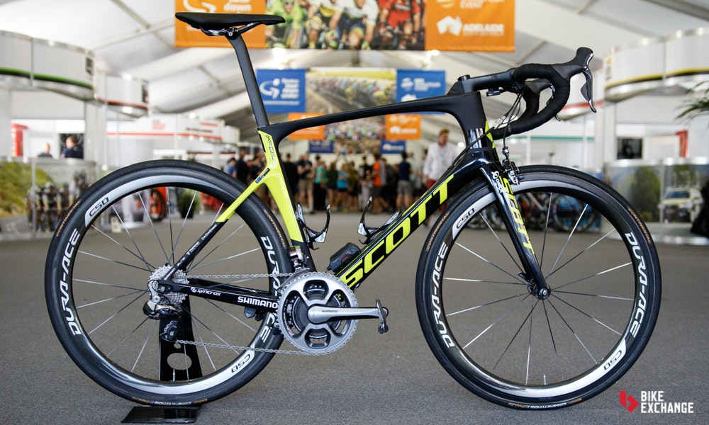 bikes of the 2017 worldtour orica scott foil