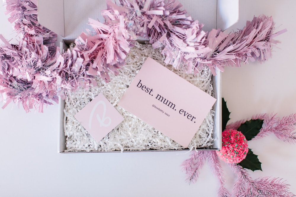 LENZO Christmas Ideas Box Betty Hamper