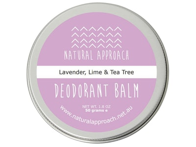Natural Approach 50g - Lavender, Lime & Tea Tree - Natural Deodorant