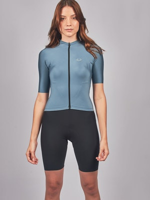 Taba Fashion Sportswear Camiseta Ciclismo Mujer Alpe D' Huez