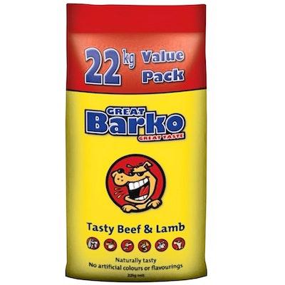 Laucke Mills Great Barko Tasty Beef & Lamb Dog Food 22kg