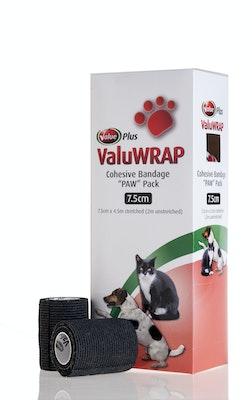 Value Plus VALUWRAP PAW PACK 10s BLACK - TWO SIZES