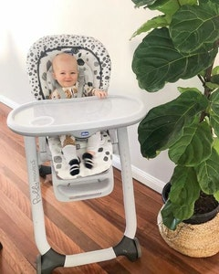 Chicco Polly Progres5 Highchair - Anthracite