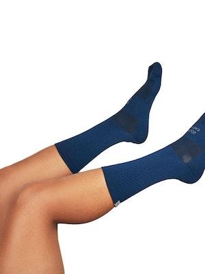 "Taba Fashion Sportswear Media Ciclismo Rombito Azul Oscuro 7"""