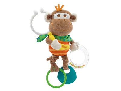 Chicco MULTI ACTIVITY VIBRATING MONKEY TACTILE RATTLE