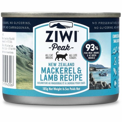 ZiwiPeak Mackerel & Lamb Wet Cat Food