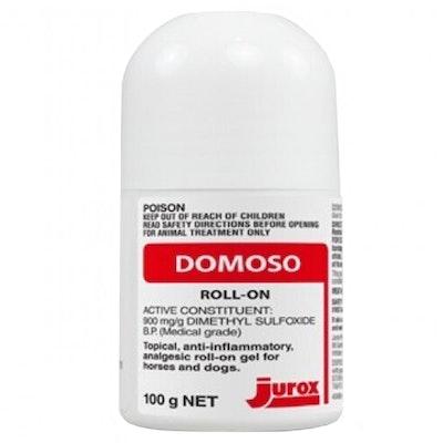 Jurox Domoso Horse & Dog Anti Inflammatory Roll On Gel 100g